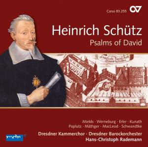 Schütz: Psalms of David, SWV 22-47 (Op. 2)