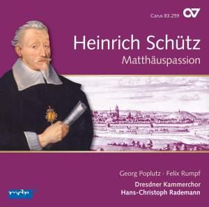 Schütz: Matthäuspassion & Other Vocal Works Product Image