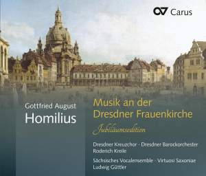 Homilius: Music at the Frauenkirche Dresden (Anniversary Edition)