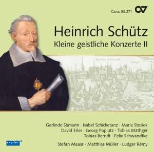 Schütz: Kleine geistliche Konzerte II, Op. 9 Product Image