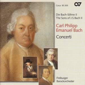 C P E Bach - Concerti