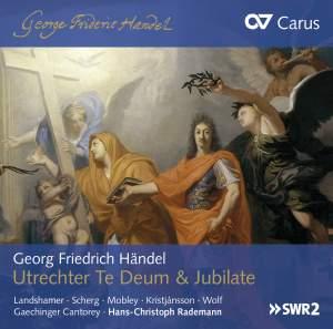 Handel: Utrecht Te Deum & Jubilate Product Image