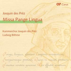 Despres: Missa Pange Lingua Product Image