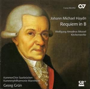 Michael Haydn: Requiem in B flat major & Mozart: Choral Works
