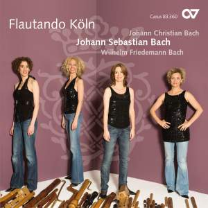 JS Bach, JC Bach and WF Bach: Music for Recorder Ensemble