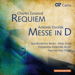 Gounod: Requiem & Dvorak: Mass in D