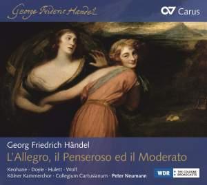 Handel: L'Allegro, il Penseroso ed il Moderato Product Image