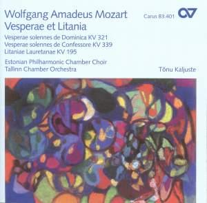 Mozart Vesperae et Litania