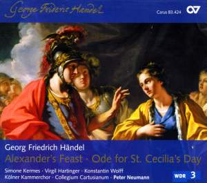 Handel - Alexander's Feast & Ode for St. Cecilia's Day