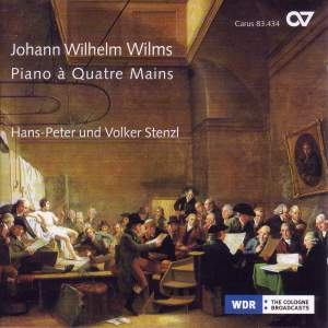 Wilms - Sonatas for piano 4-hands