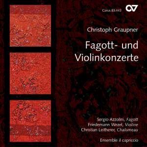 Graupner: Bassoon and Violin Concertos Product Image