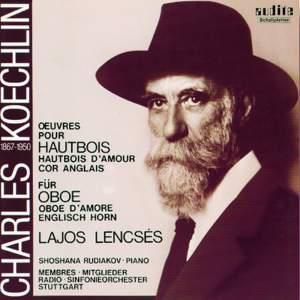 Koechlin - Works for Oboe