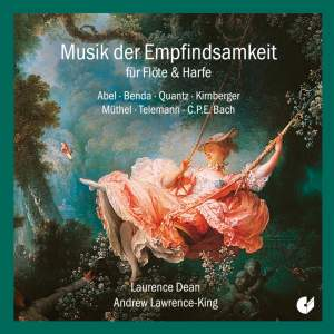 Music Of The Sensitive Style For Flute & Harp: Works by Abel, Quantz, Bach et al.