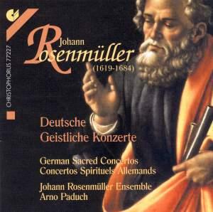 Rosenmüller: German Sacred Concertos
