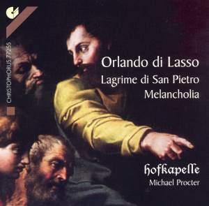 Lasso: Lagrime di San Pietro, etc.