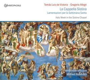 Victoria: Holy Week in the Sistine Chapel