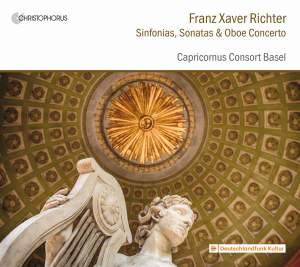 F X Richter: Sinfonias, Sonatas & Oboe Concerto Product Image
