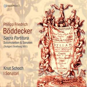 Philipp Friedrich Böddecker: Sacra Partitura Product Image
