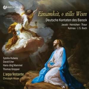 Einsamkeit, o stilles Wesen: German Cantatas of the Baroque Product Image