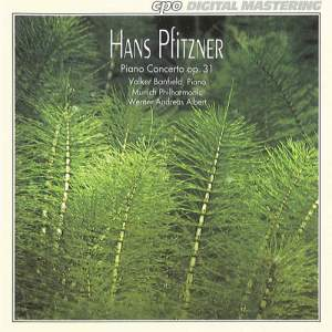 Pfitzner: Concerto for Piano in E flat major, Op. 31