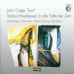Cage: Two4 - Hosokawa: In die Tiefe der Zeit