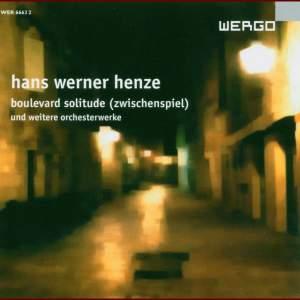 Hans Werner Henze - Boulevard Solitude & other Orchestral Works