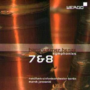 Henze: Symphonies Nos. 7 & 8
