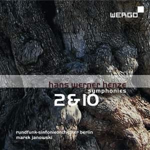 Henze: Symphonies Nos. 2 & 10