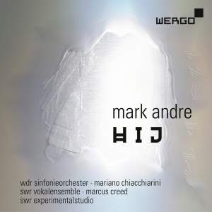 Mark Andre: Hij Product Image