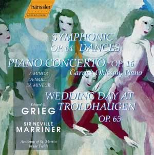 Grieg: Symphonic Dances (4), Op. 64, etc.