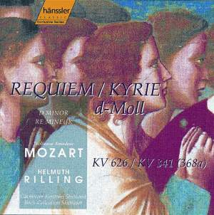 Mozart: Requiem & Kyrie in D minor Product Image