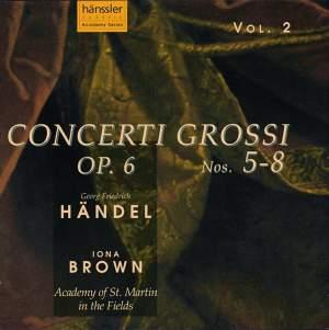 Handel: Concerti Grossi, Op. 6 Nos. 5-8 Product Image