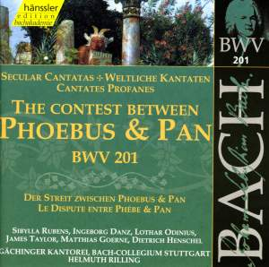 The Contest between Phoebus & Pan