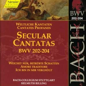 Bach: Secular Cantatas