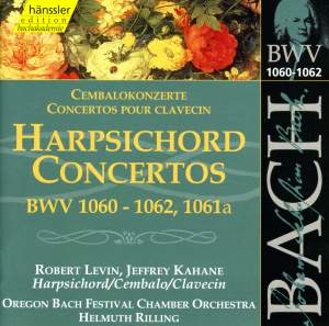 J S Bach: Concertos for Two Keyboards