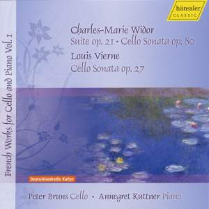 French Works for Cello and Piano Vol.1