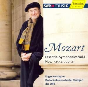 Mozart Essential Symphonies Vol. I