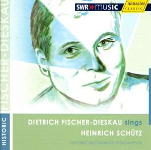 Dietrich Fischer Dieskau sings Schütz