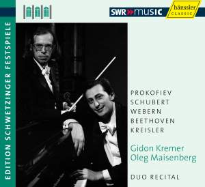 Gidon Kremer & Oleg Maisenberg - Recital