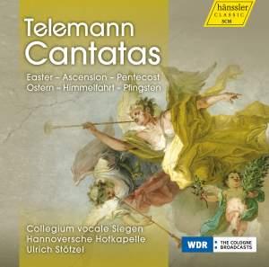 Telemann Cantatas: Easter, Ascension & Pentecost