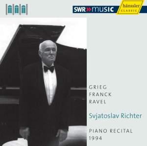 Svjatoslav Richter: Piano Recital 1994