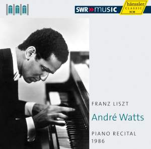 André Watts: Piano Recital 1986 Product Image