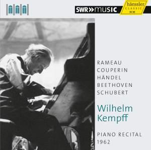 Wilhelm Kempff: Piano Recital 1962