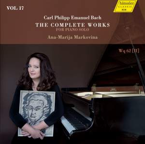 C.P.E. Bach: The Complete Works for Piano Solo, Vol. 17 Product Image