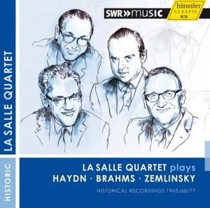 LaSalle Quartet plays Haydn, Brahms und Zemlinsky Product Image