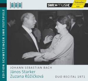 János Starker plays Bach: Duo Recital 1971