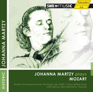 Johanna Martzy plays Mozart