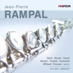 Rampal, Jean-Pierre: Bach, Benda, Haydn, Mozart, Rosetti, Hindemith, Milhaud & Roussel (1946-1956)