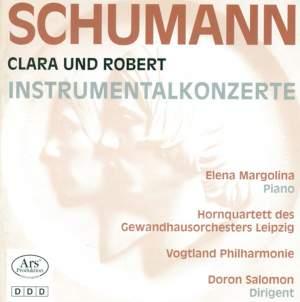 Clara & Robert Schumann: Concertos
