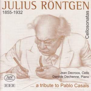 Julius Röntgen: Cello Sonatas, Vol. 1
